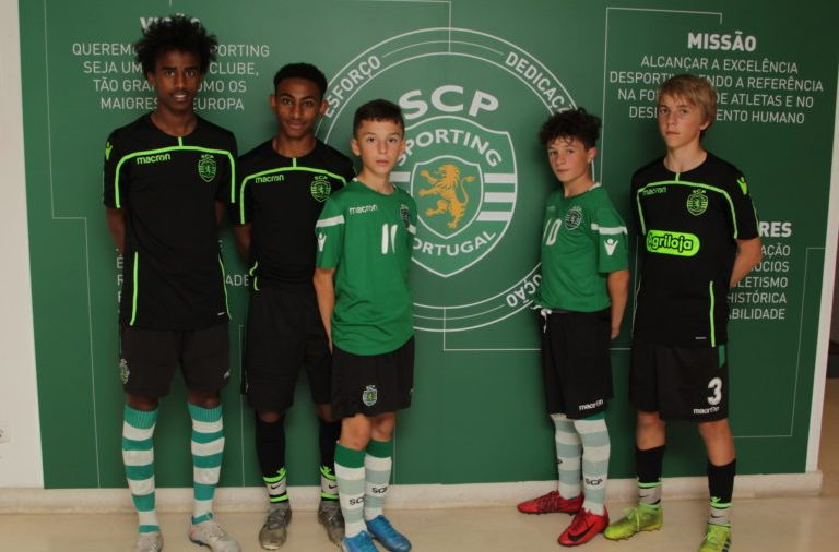 (ex.) Bashir Huseen Bashiir, Sahle Wållberg, Blerton Isufi, Alfredo Steiner and Noah Rørvik Solheim are some of the players who got to try this fall at Sporting Academy