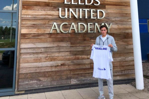 Niklas Haugland has found himself well at Leeds United Academy which has been referred to by many as one of the best academies in England