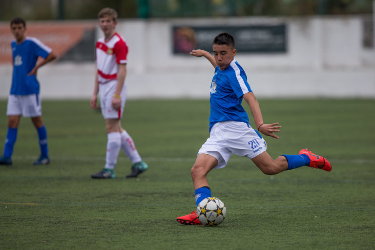A stepping stone to the dream of professional football: National team debutant and NF Academy player Alexi Hughes says the scholarship program has helped his development.