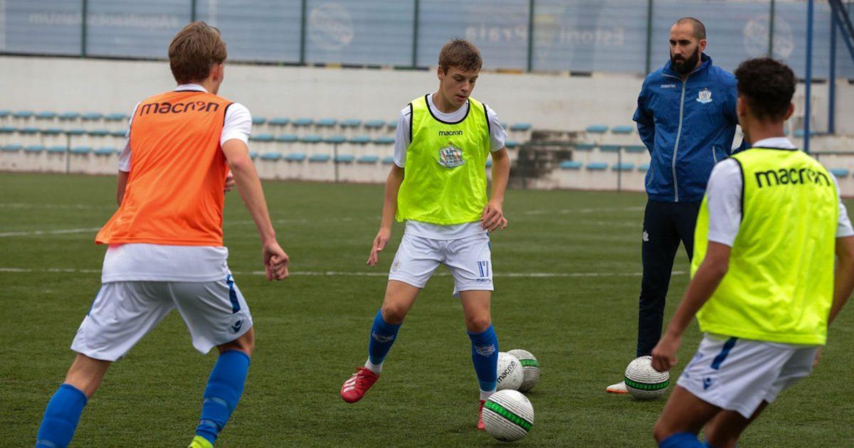 Under NF International vil spillere blive trænet af portugisiske toptrænere.
